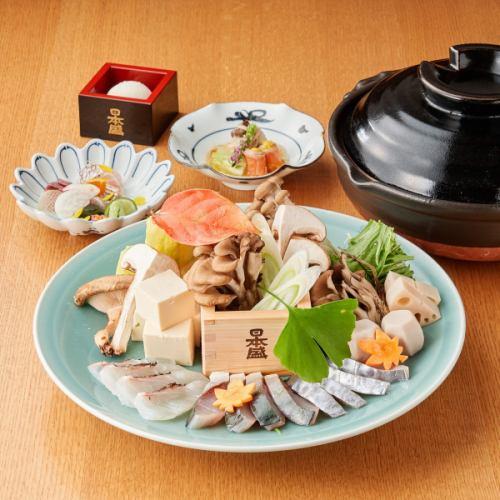 日本盛吟醸酒粕鍋コース