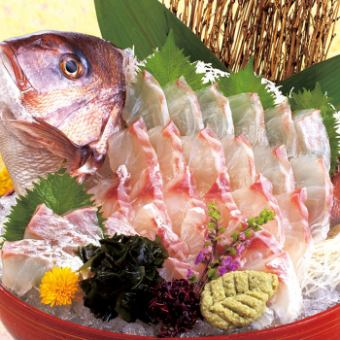 Special Banquet 2H 【Drinking】 Grade UP Easy Grilled & Sea Bream Sale 4 Points Sale 6000 yen per person (8 items in total)