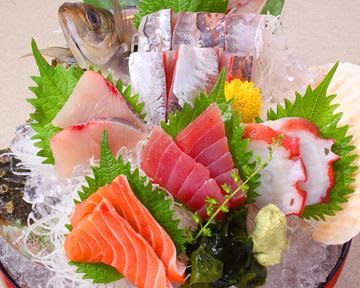 Freshly sourced fresh sashimi with sashimi 5 pcs