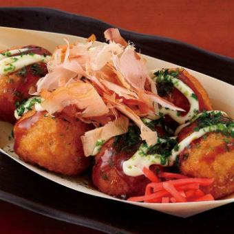 Takoyaki [6 pieces entering]