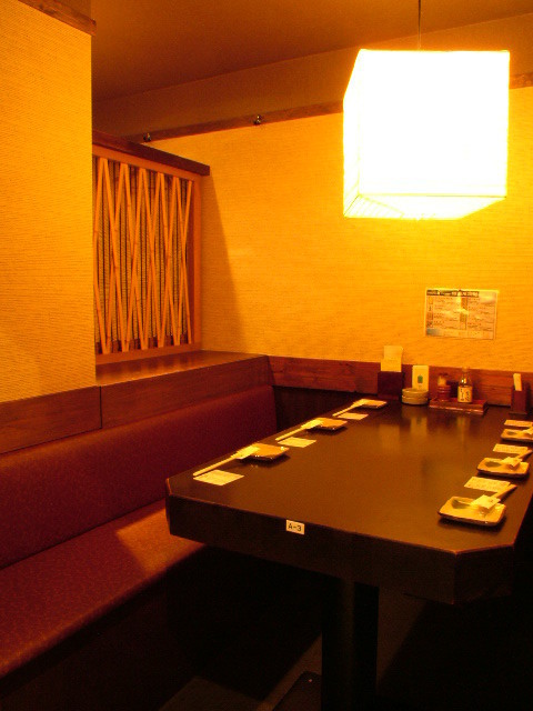 6 people OK table private room.I can enjoy it ☆