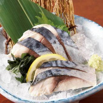 截止鲭鱼生鱼片