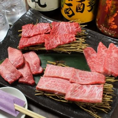 Good meat in COSPA! 【Premium Wagyu Beef Assortment Assortment ◆ 5000 yen (tax excluded)】 1 dish without stomach ☆