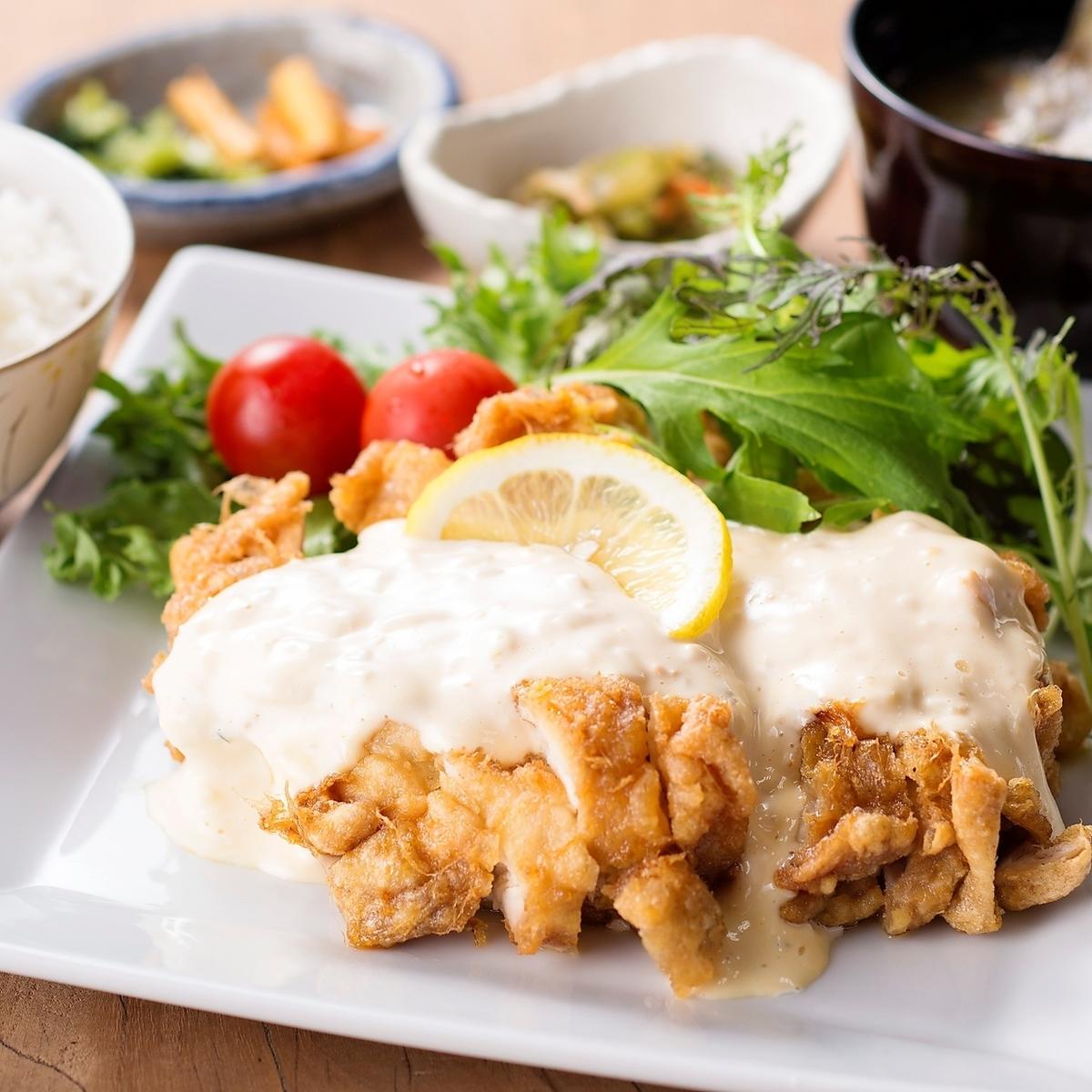【套餐】宫崎特产!鸡南蛮套餐