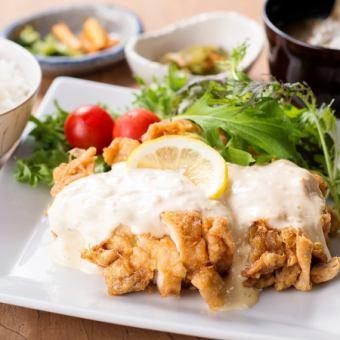 【Set meal】 Miyazaki specialty! Chicken Nanban Set meal