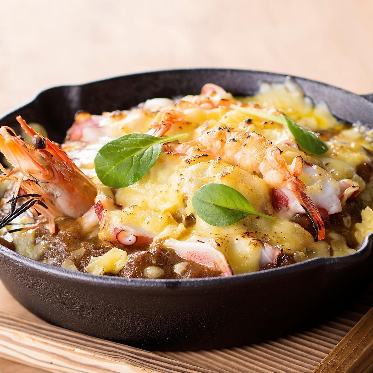 【咖喱】海鲜烤咖喱