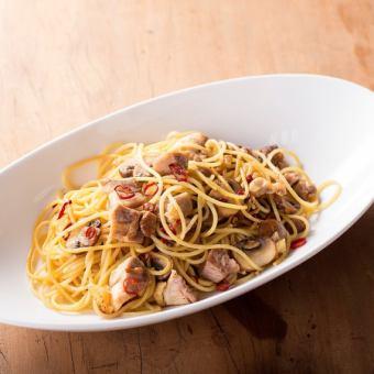 Chicken pasta pasta pepproncino