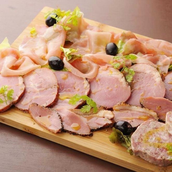"""Ham and Salami 's """"Princess"""" (half / full)"""