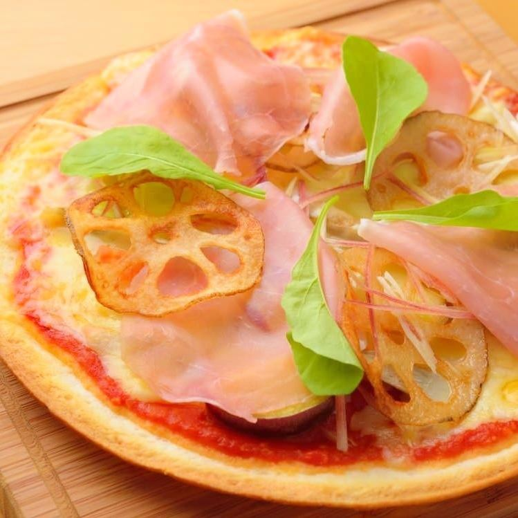 Food ingredients Various market pizza