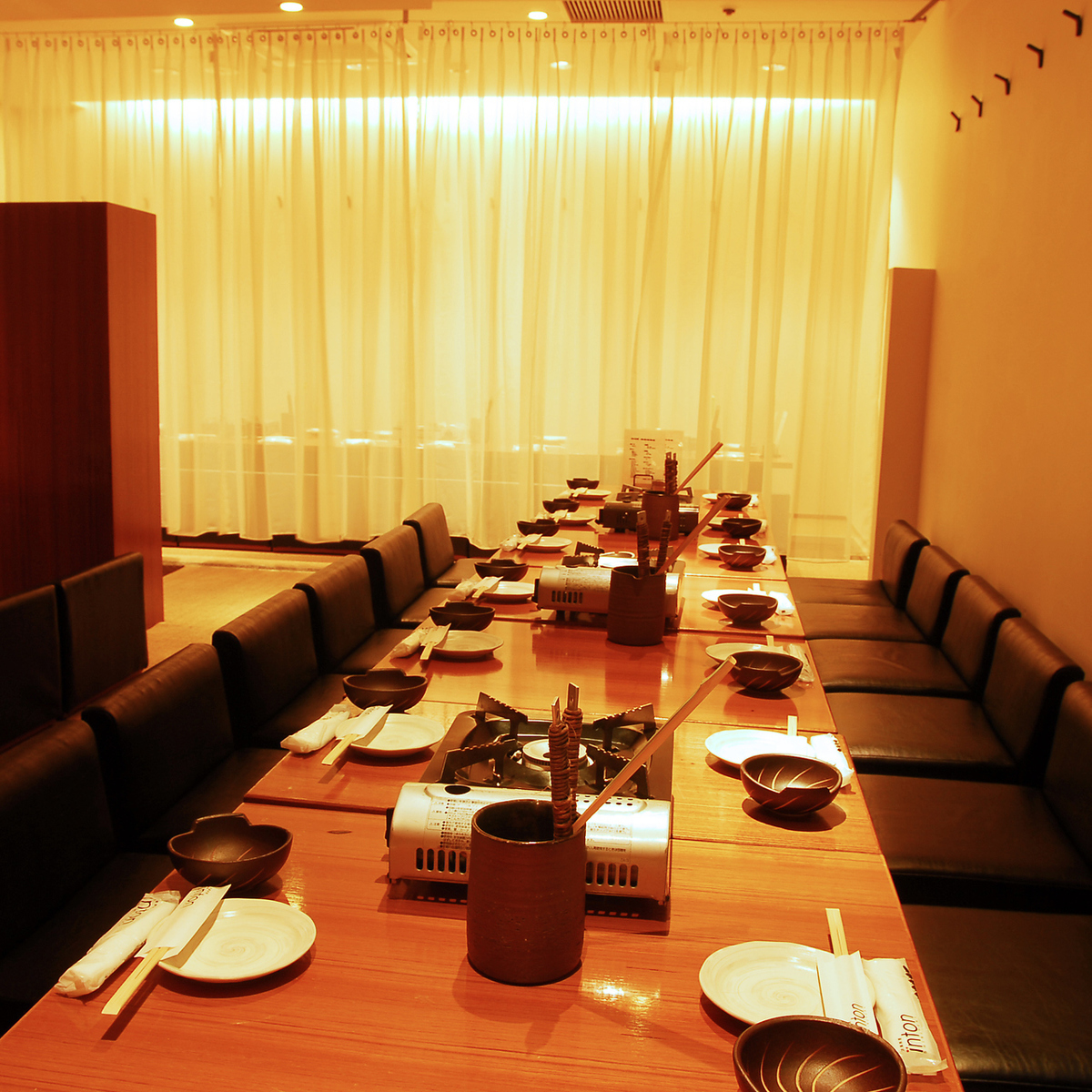 Healing in a stylish space of a complete private room ... ~ Shinjuku hideout inton Ichiban ~ ☆ Women's Association, perfect for gongs ☆ l Various banquet courses with unlimited drinks are available from 3500 yen! In other, inton Please enjoy the cuisine ★
