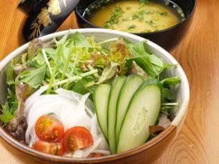 生蔬菜Shakisaki沙拉