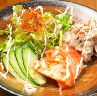猪肉涮锅沙拉
