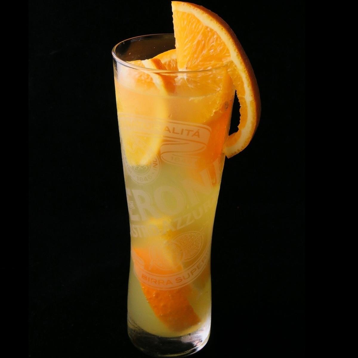 サワー&オレンジ果肉