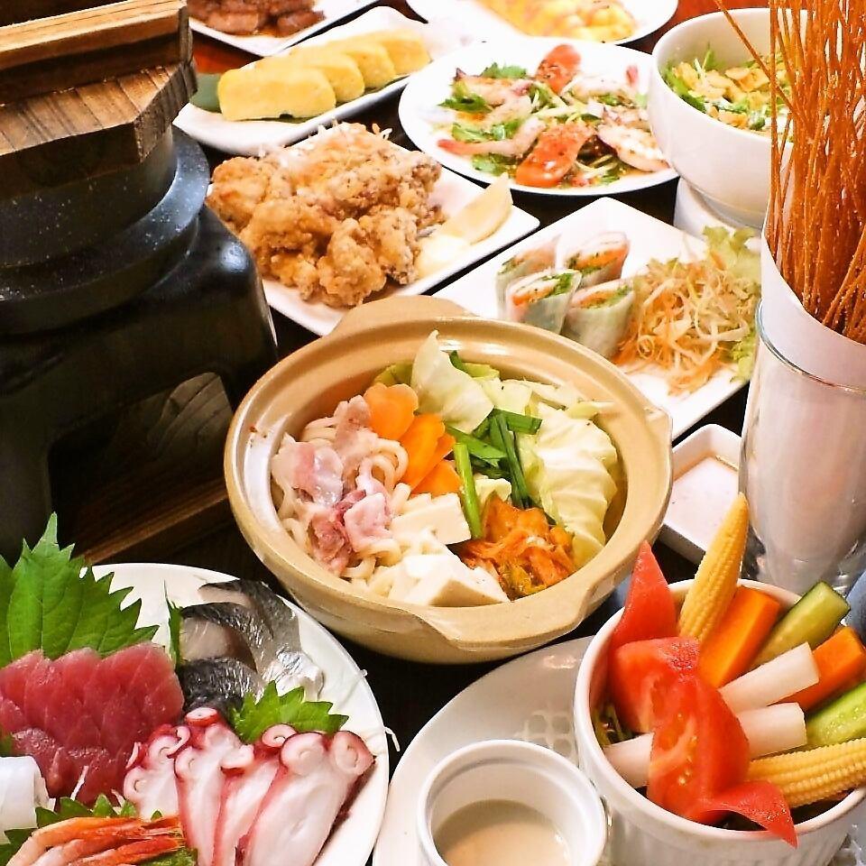 【7月13日OPEN!】長崎駅前の食べ放題・飲み放題が出来るお店♪単品利用も◎