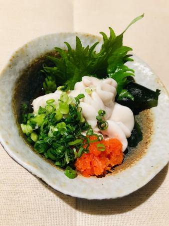白子ポン酢 or 天ぷら