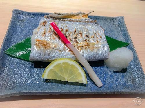太刀魚塩焼き