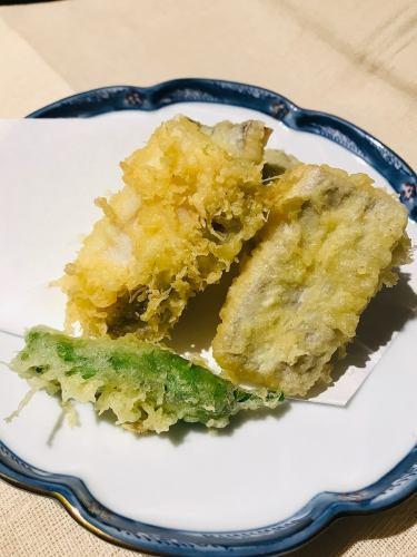 穴子天ぷら