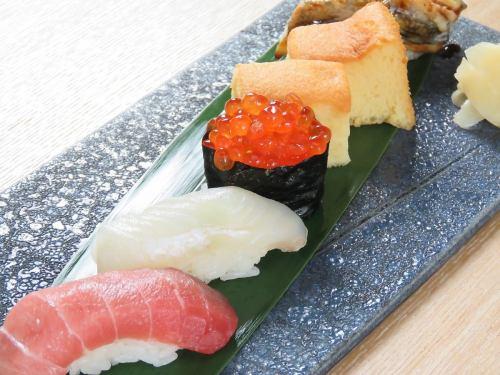 職人の握る握り寿司