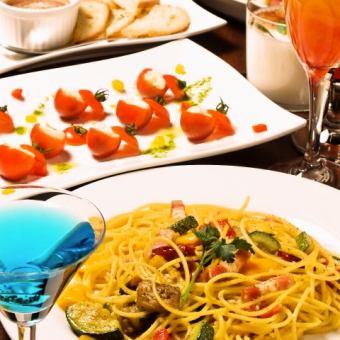 【所有者的派对计划】5道菜和平日2.5小时无限畅饮2,800日元※星期六,星期六,庆祝前2小时