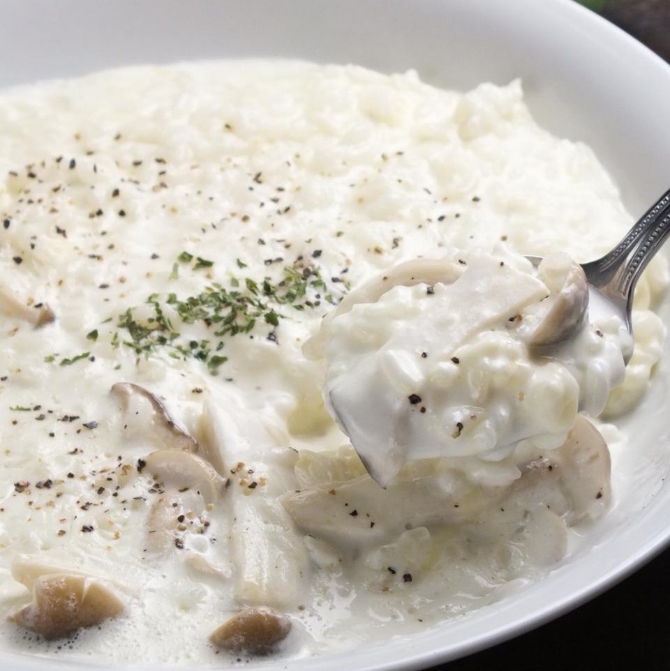 蘑菇奶油芝士燴飯