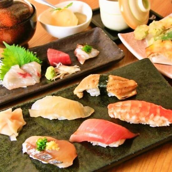 【赤坂・警固】寿司と天ぷらのお店。旬食材を最高の調理でおもてなしいたします。