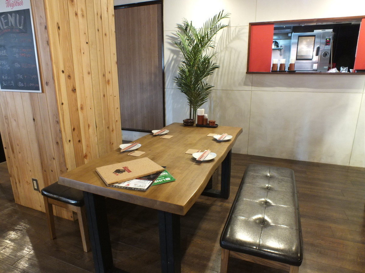 Zashiki seat: up to 4 people ★