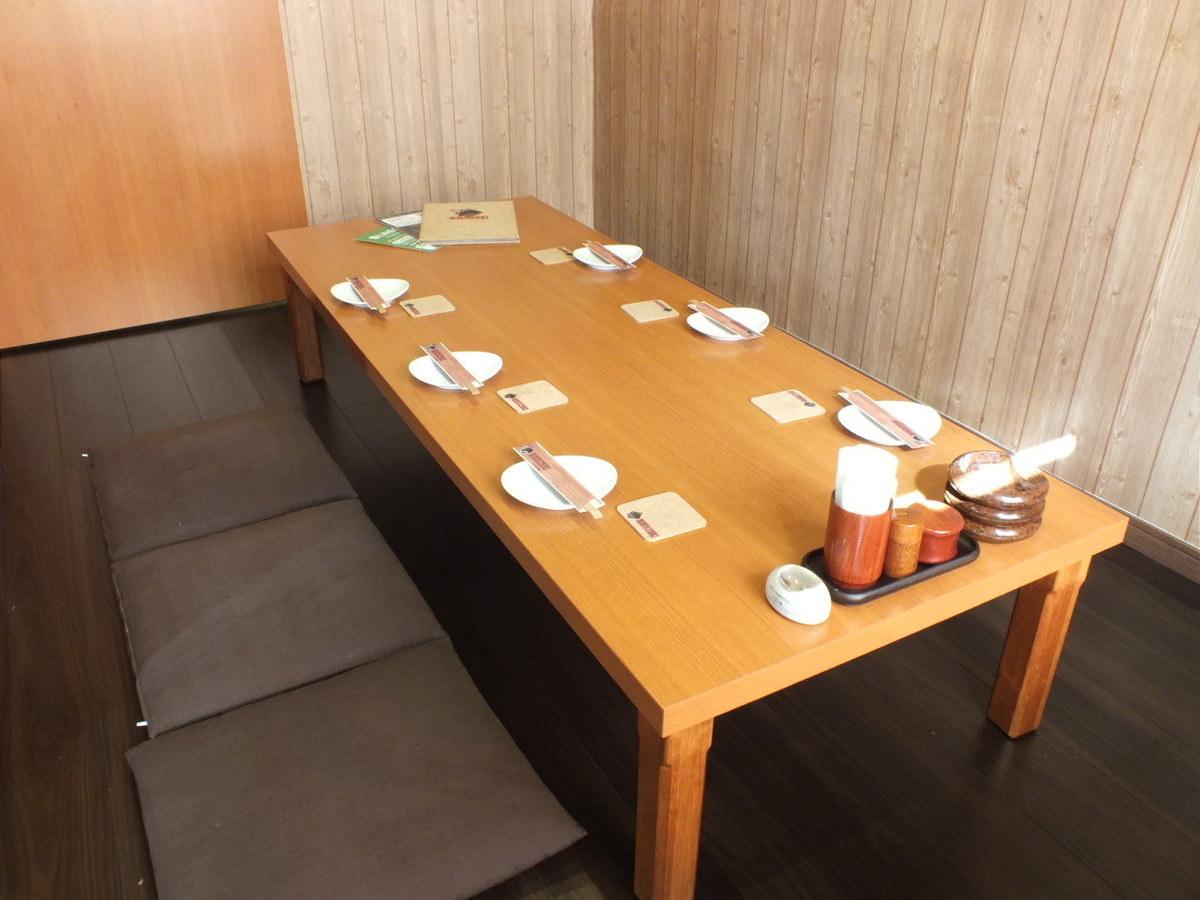 Tatami mat rooms