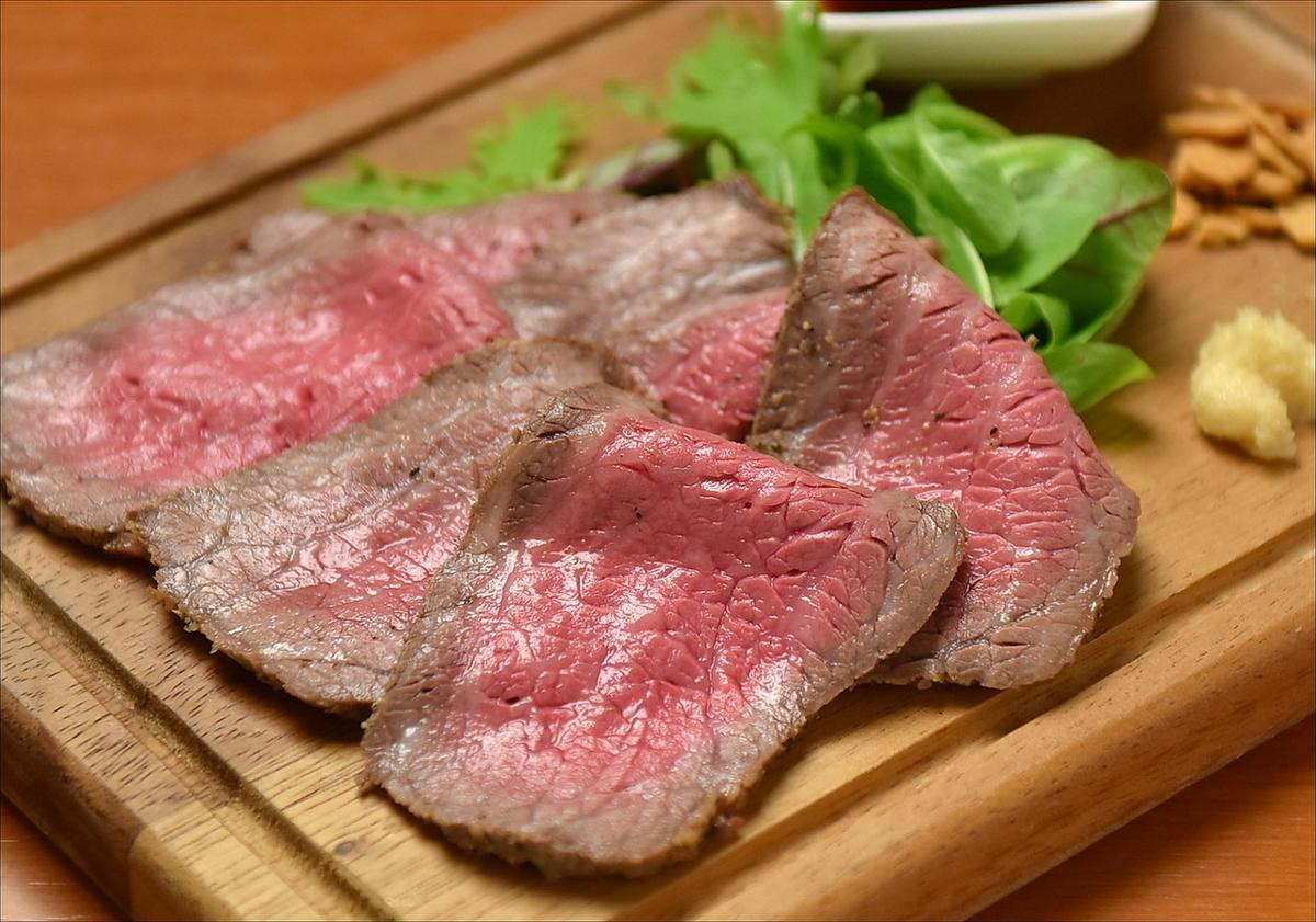 黑毛和牛牛肉烤牛肉