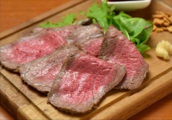 黑色和牛牛肉烤牛肉