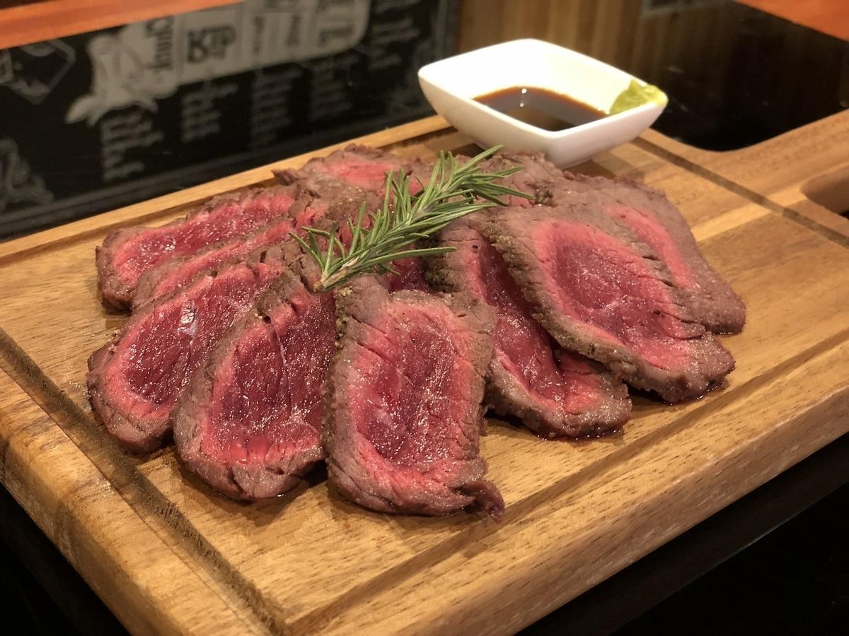 Red steak