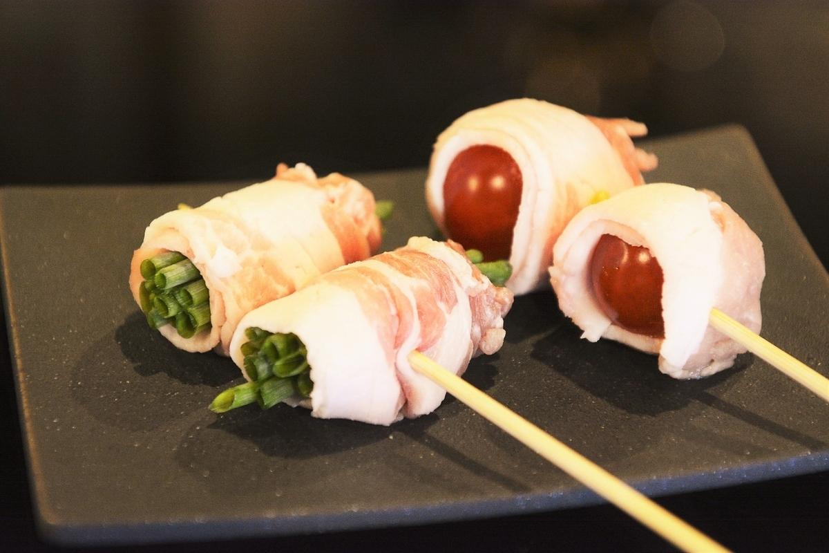 豬肉番茄串