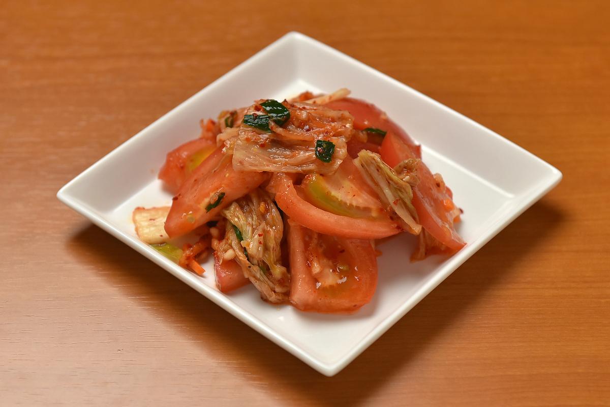 流行的番茄泡菜