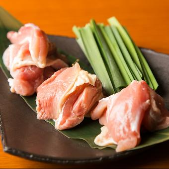 軍鶏の3種食べ比べ