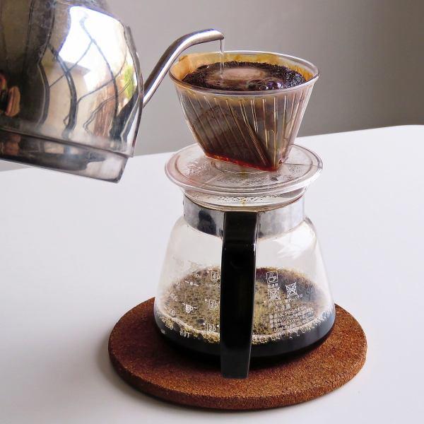 スタッフが選んだ個性的な3種類の淹れたてコーヒー☆