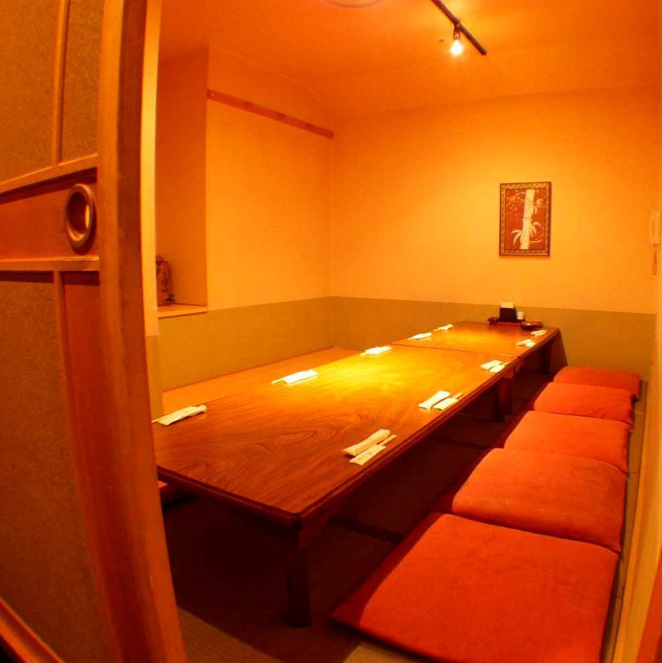 Banquet excavation for 10 people Private room.