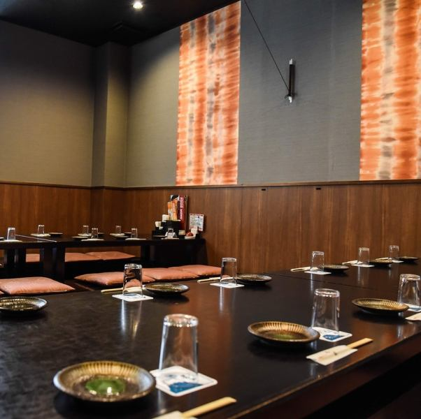♪ It is a welcome reception party and a little gathering ♪ Popular Kaori is a variety of usage ♪ You can also charter relaxing relax relaxingly with 70 people ◎ Please make a reservation by the day before your visit by 8 people or more.