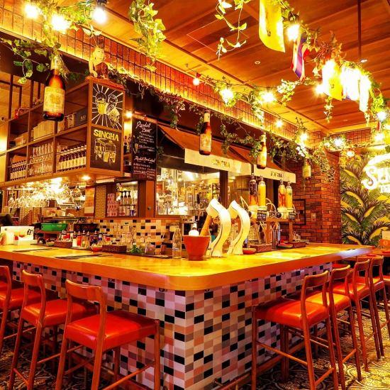 【日本で唯一】タイでNo.1ビールメーカーのシンハービール直営店です★