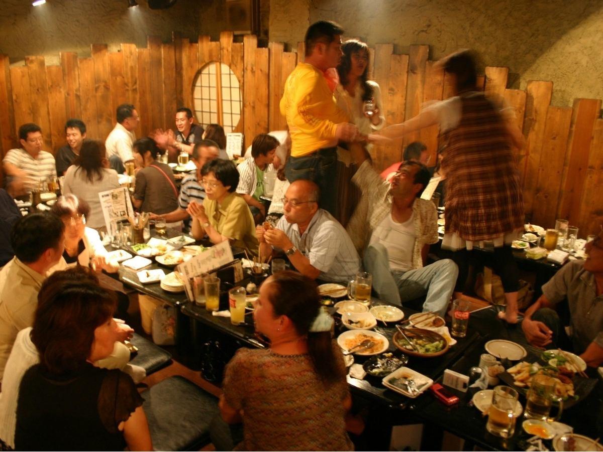 70名様OK★ワイワイ系宴会にも【ごちや】、食放&飲放も絶好調♪
