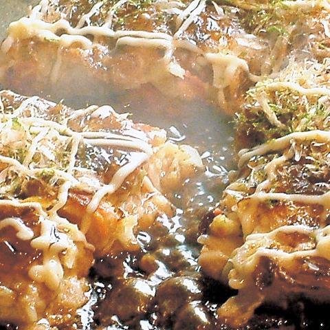 お好み焼・もんじゃ焼(定番から変わり種まで豊富なラインナップ♪)