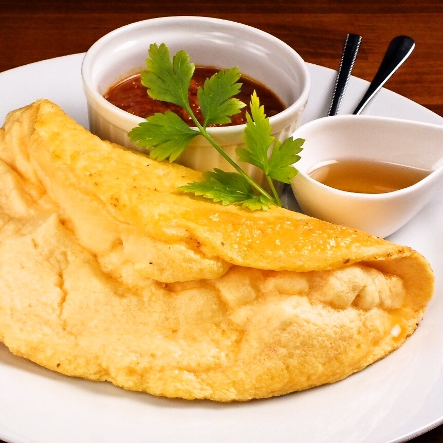 木村養鶏場栄味卵のオムレツ