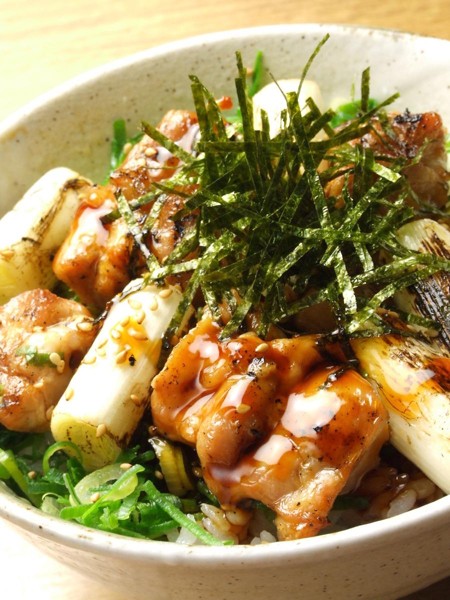 Kohaku Yakitori唐碗/烤鸡肉串炒饭
