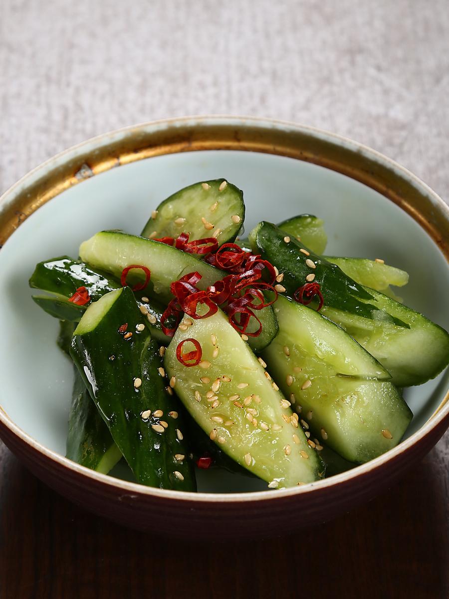 Mutifully cucumber