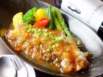 サーロインステーキ~季節の野菜のグリル添え~