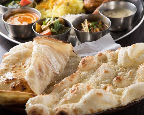 南北インド料理を堪能
