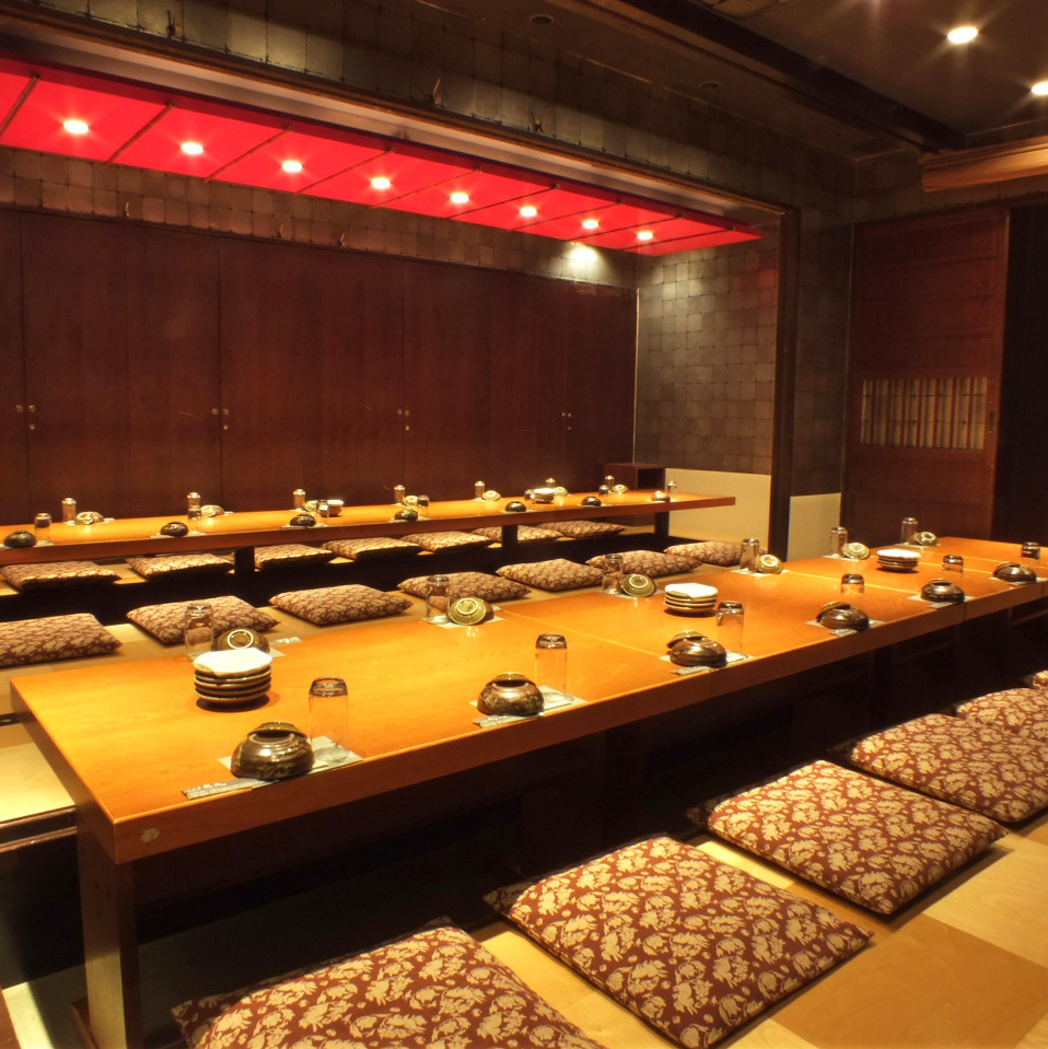 [Banquet up to 40 people OK] Popular large digging tatocho private room ♪ Ideal for company banquets and alumni associations ◎