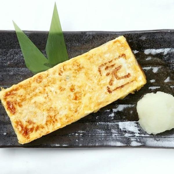 Handmade thick-baked egg