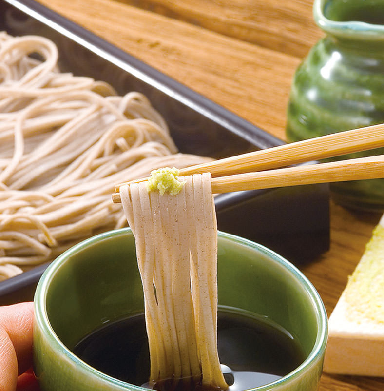 Specially made Horokanai soba 【+200 yen for large vase / + 50 yen for buckwheat noodle】