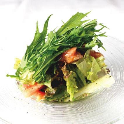 ·沙拉·各種沙拉用Kyo蔬菜〜日本醬〜
