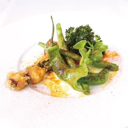 ·開胃菜·加利西亞風格的章魚章魚章魚,如酸橘汁醃魚