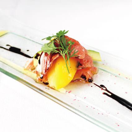 ·開胃菜·鮭魚火鍋·雷鬼瑪麗娜